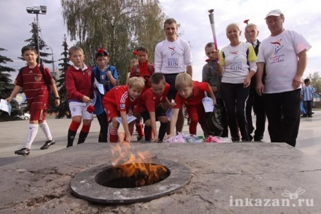 Новости  - Вечный огонь в Казани зажжется к 1 июля