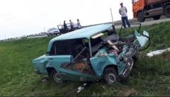 В Татарстане лоб в лоб столкнулись две легковушки