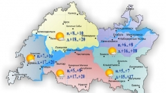Новости Погода - Сегодня по республике ожидается небольшой дождь