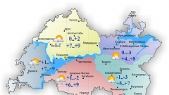 Новости  - Сегодня в Татарстане переменная облачность и небольшие осадки