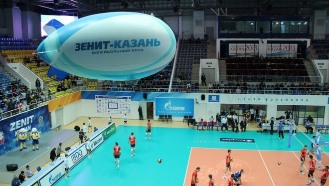 """ВК """"Зенит"""" не прошел в полуфинал клубного чемпионата мира по волейболу"""