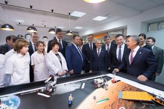 В Татарстане открылся первый детский технопарк