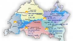 Новости  - По Татарстану температура воздуха опустится до 24 градусов ночью
