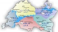 Новости Погода - Сегодня по Татарстану ожидается слабая метель
