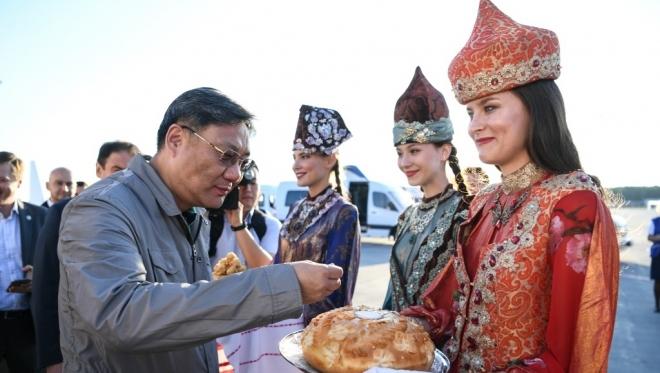 В Татарстан прибыла китайская делегация для подписания соглашения