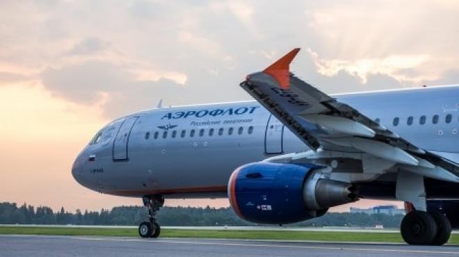 """Новости  - Очередной самолет """"Аэрофлота"""" вылетит не по расписанию"""