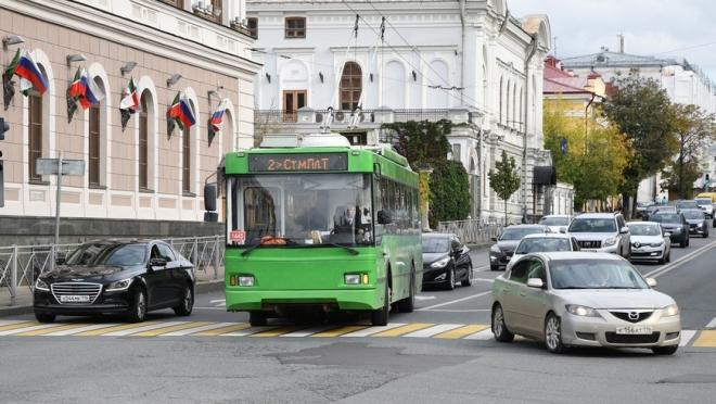 Казанский троллейбус №2 изменит свой маршрут