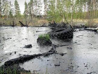 Метшин назвал сброс битума в Дербышках экологическим преступлением года