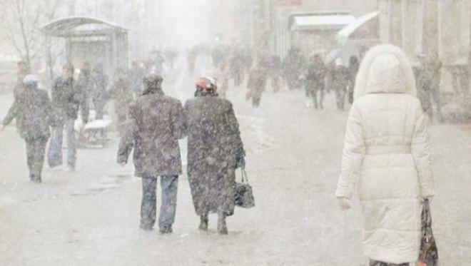 17 января по Татарстану сохраняется слабая метель