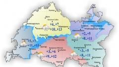 Новости  - 28 сентября по Татарстану облачность с прояснениями и временами дождь