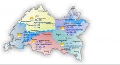 Новости  - 4 марта в Татарстане мороз до 10 градусов и снег