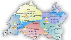 Новости  - Сегодня и завтра в Татарстане ожидается сильный ветер
