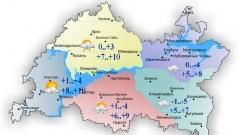 Новости  - 15 октября воздух в Татарстане прогреется до максимальных 10 градусов тепла