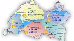 В Татарстане сегодня ожидается небольшой дождь