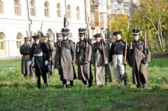 Новости  - В Национальном музее РТ в память о Бородине стреляли из кремниевых мушкетов