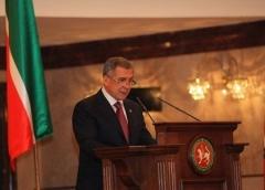 Новости  - Рустам Минниханов выступает с ежегодным посланием к парламентариям Татарстана