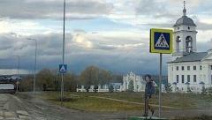 Новости Транспорт - В Арском районе на дорогах появились картонные школьники
