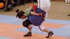Новости  - Россиянки завоевали три медали в борьбе на поясах