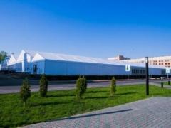 Новости  - Для участников Универсиады в Казани построили ангар-столовую