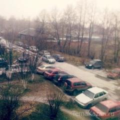 Новости  - В Казань приходит зима: на дорогах ожидается гололедица и метель