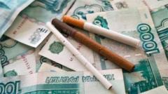 Минздрав РФ предлагает ввести экологический налог на табачную продукцию