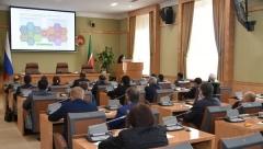 Проект финансового района презентовали Минниханову