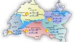 Новости  - 26 июля по Татарстану ожидается жара и отсутствие осадков