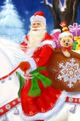 Улица Деда Мороза постер