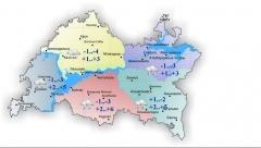 Новости Погода - 23 апреля в некоторых районах Татарстана ожидается метель