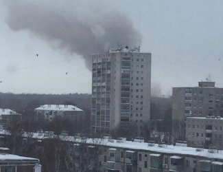 В результате пожара на Казанском пороховом заводе обрушилось здание, один рабочий погиб