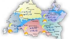 Новости  - Сегодня температура воздуха по Татарстану поднимется до 21 градуса