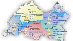 Новости Погода - 13 декабря в Татарстане восточный умеренный ветер