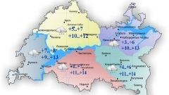 Новости  - Сегодня в Татарстане до 14 градусов тепла