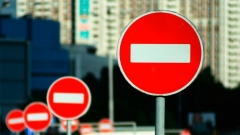 По улице Ахтямова в Казани ограничили движение транспорта и пешеходов