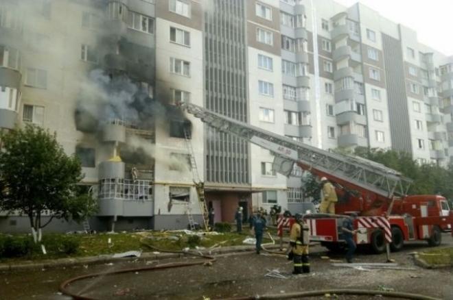 В Набережных Челнах проводят проверку по взрыву в девятиэтажке