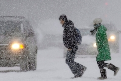 Новости  - Из-за метели в Татарстане запретили перевозки детей
