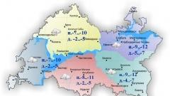 Новости  - 27 февраля в Казани и по Татарстану ожидается небольшой снег днём