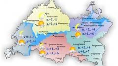 Сегодня по Татарстану ожидаются снег и дождь