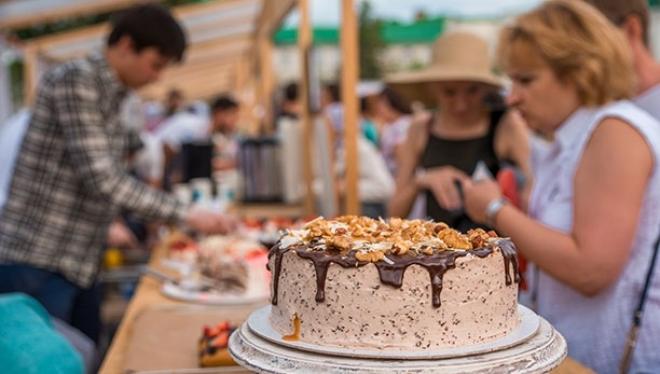 На гастрономическом фестивале было съедено 16 тонн еды