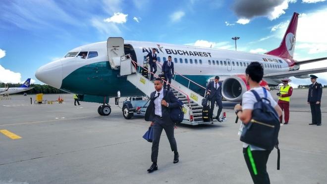 В Казани прилетела сборная Австралии ЧМ-2018