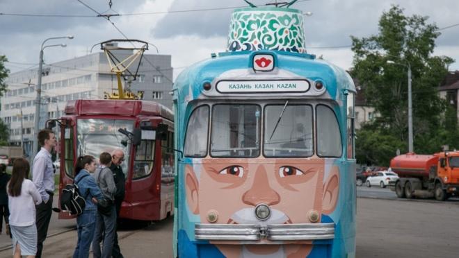 Казанцы смогут покататься на ретро-трамвае