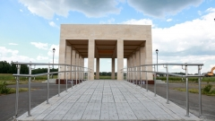 Новости Общество - Погребальный комплекс на границе с Пестречинским районом построили на 80%