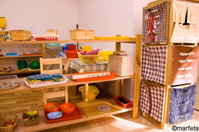 В казанском детском саду малышей будут обучать по системе Монтессори
