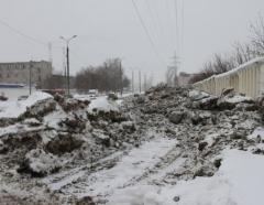Новости  - В Казани на берегу озера Кабан обнаружили свалку грязного снега