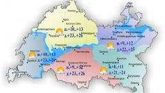 Новости Погода - 15 августа в Казани и по Татарстану ожидается потепление