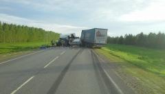 Новости  - Смертельное ДТП: столкнулись два грузовика
