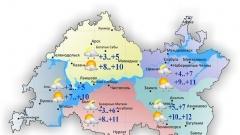 Новости  - Прогноз погоды от татарстанских синоптиков: облачность и дождь