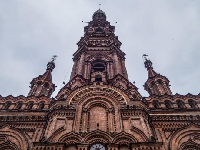 В Казани открылась смотровая площадка на 72-метровой Богоявленской колокольне