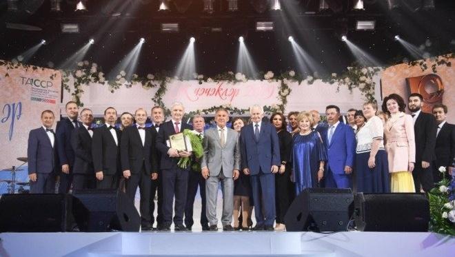 В Казани прошла церемония награждения республиканского конкурса «Врач года — Ак чэчэклэр»