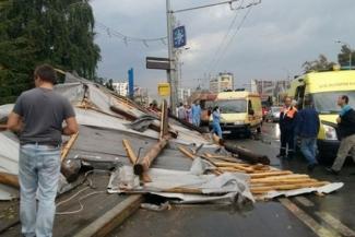В больницах Казани остались четверо пострадавших от урагана
